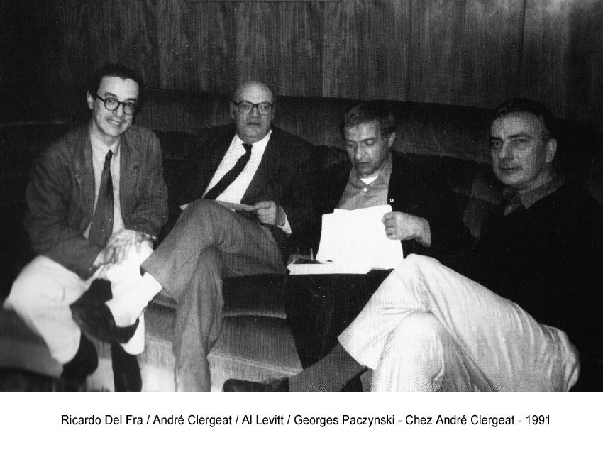 19 - R.Del Fra : A.Clergeat : A.Levitt : G.Paczynski