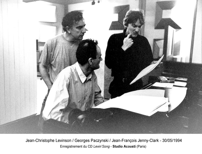 21 - J-C Levinson : G.Paczynski : J-F Jenny-Clark