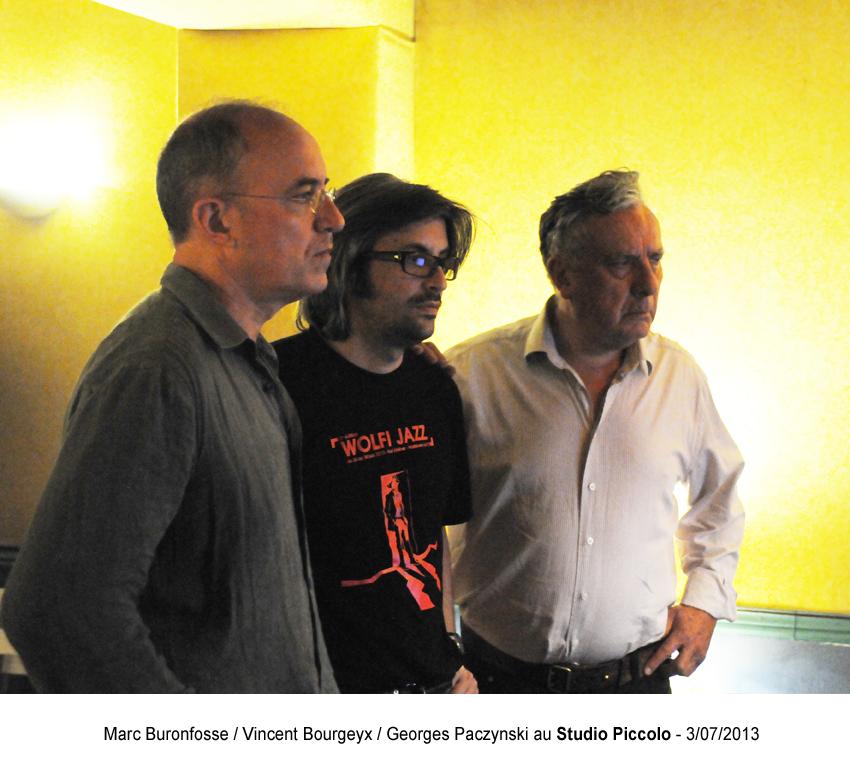 7 - M.Buronfosse : V.Bourgeyx : G.Paczynski