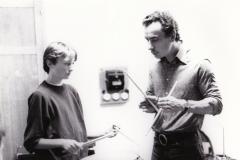 25 - G.Paczynski avec un étudiant - Le CIM